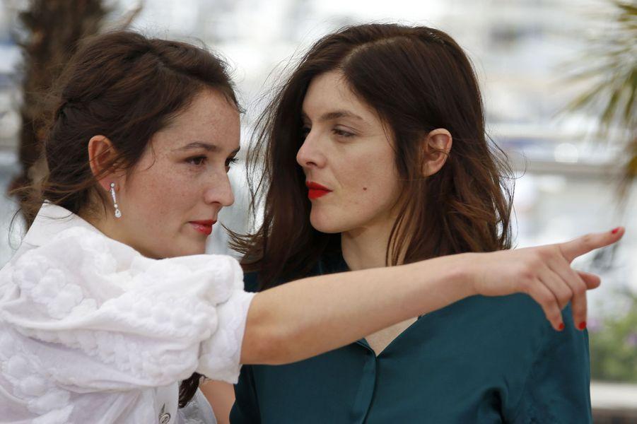 Anaïs Demoustier et Valérie Donzelli à Cannes le 19 mai 2015