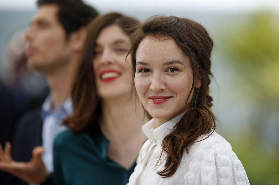 Jérémie Elkaïm, Valérie Donzelli et Anaïs Demoustier à Cannes le 19 mai 2015