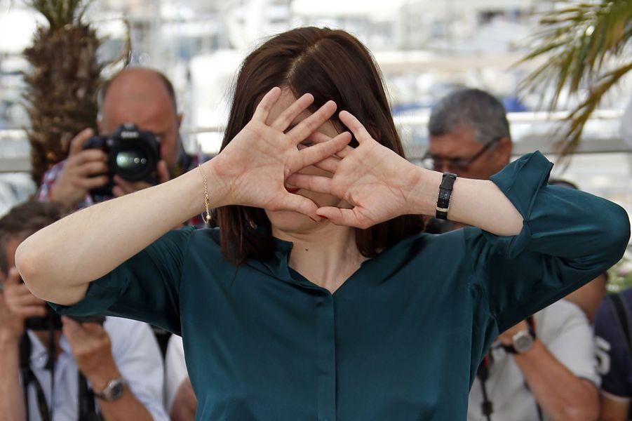 Valérie Donzelli à Cannes le 19 mai 2015