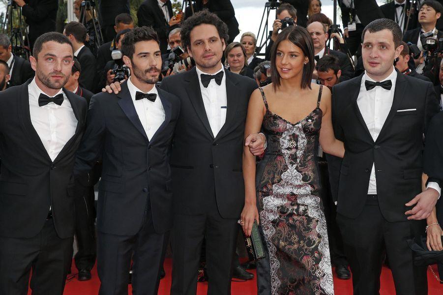 """Au Festival de Cannes, le tapis rouge du film """"Les Affranchis"""" avec Tahar Rahim et Adèle Exarchopoulos"""