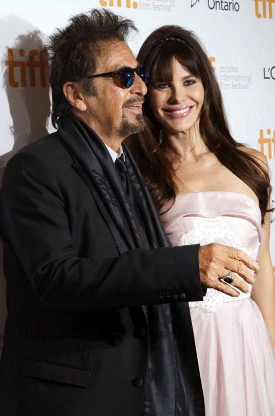 Al Pacino et Lucila Sola