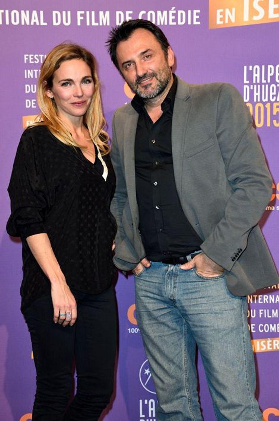 Claire Keim et Frédéric Lopez