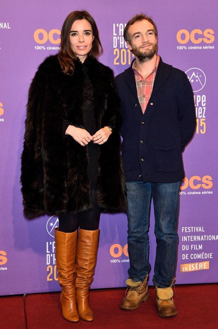 Elodie Bouchez et Jonathan Lambert