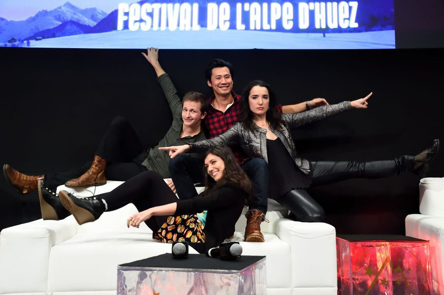 Frederic Chau, Isabelle Vitari, Vanessa Guide et Mathieu Spinosi