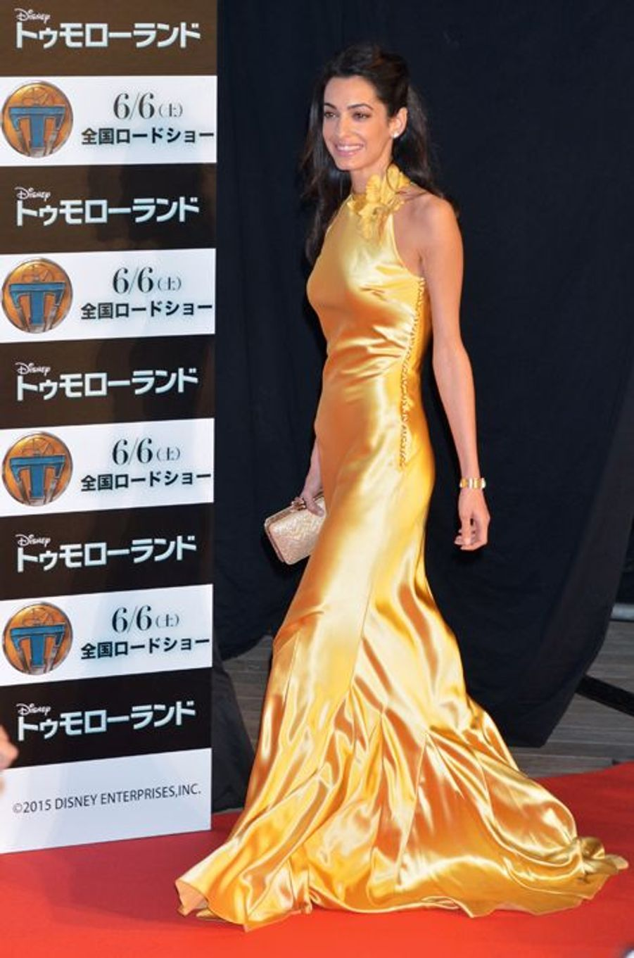 Amal Clooney à Tokyo le 25 mai 2015