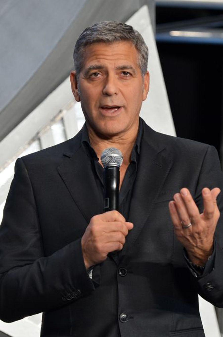 George Clooney à Tokyo le 25 mai 2015
