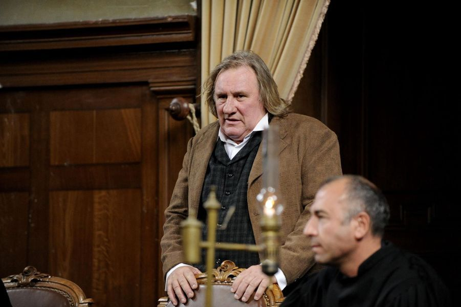 Gérard Depardieu à la barre