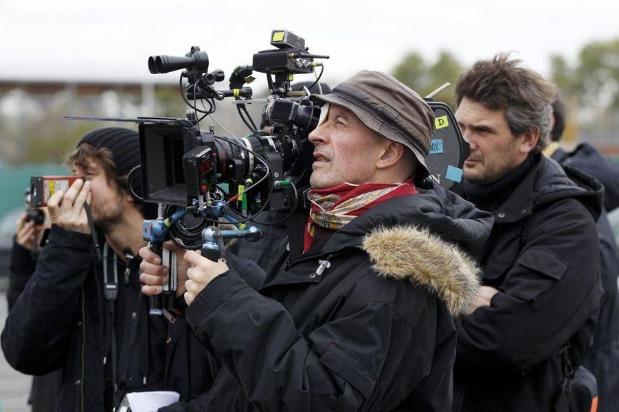 """Sur le tournage du «Prophète"""", 2008"""