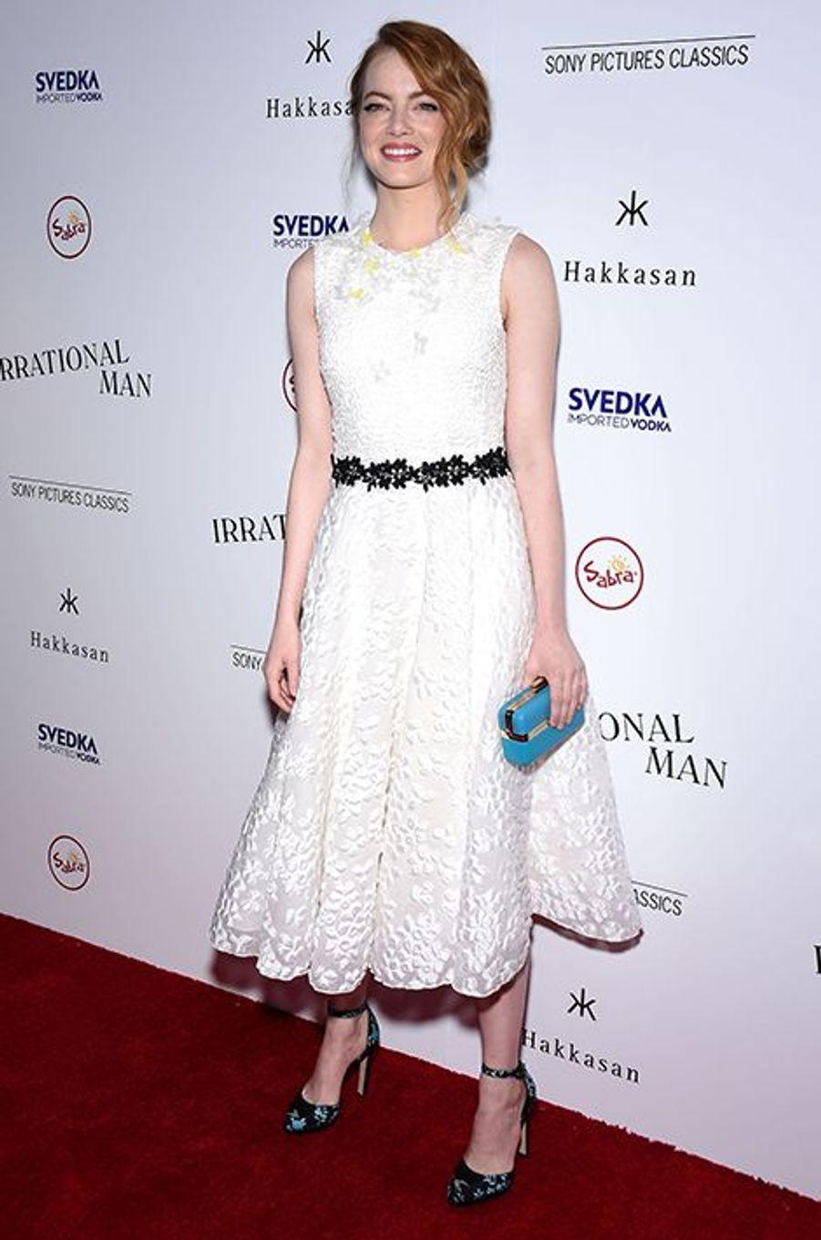 Emma Stone à Los Angeles le 9 juillet 2015