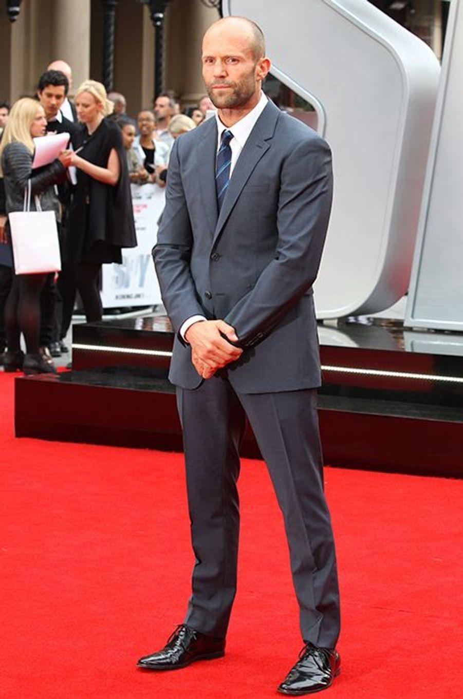 Jason Statham à Londres le 27 mai 2015