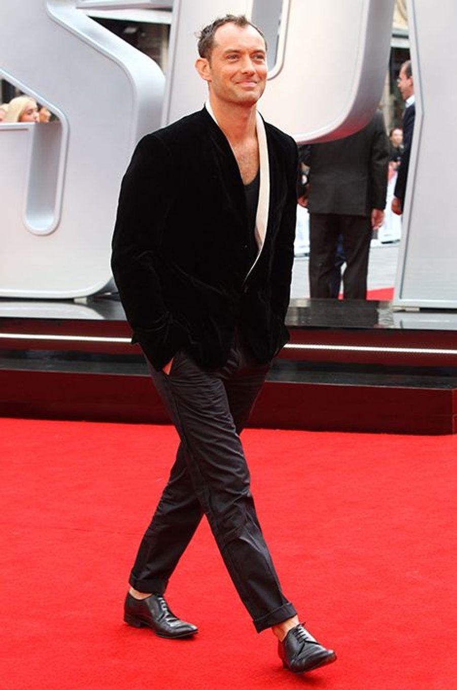 Jude Law à Londres le 27 mai 2015