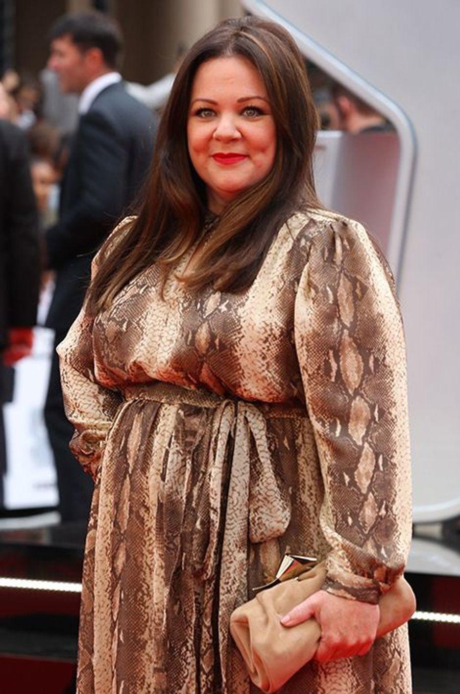 Melissa McCarthy à Londres le 27 mai 2015