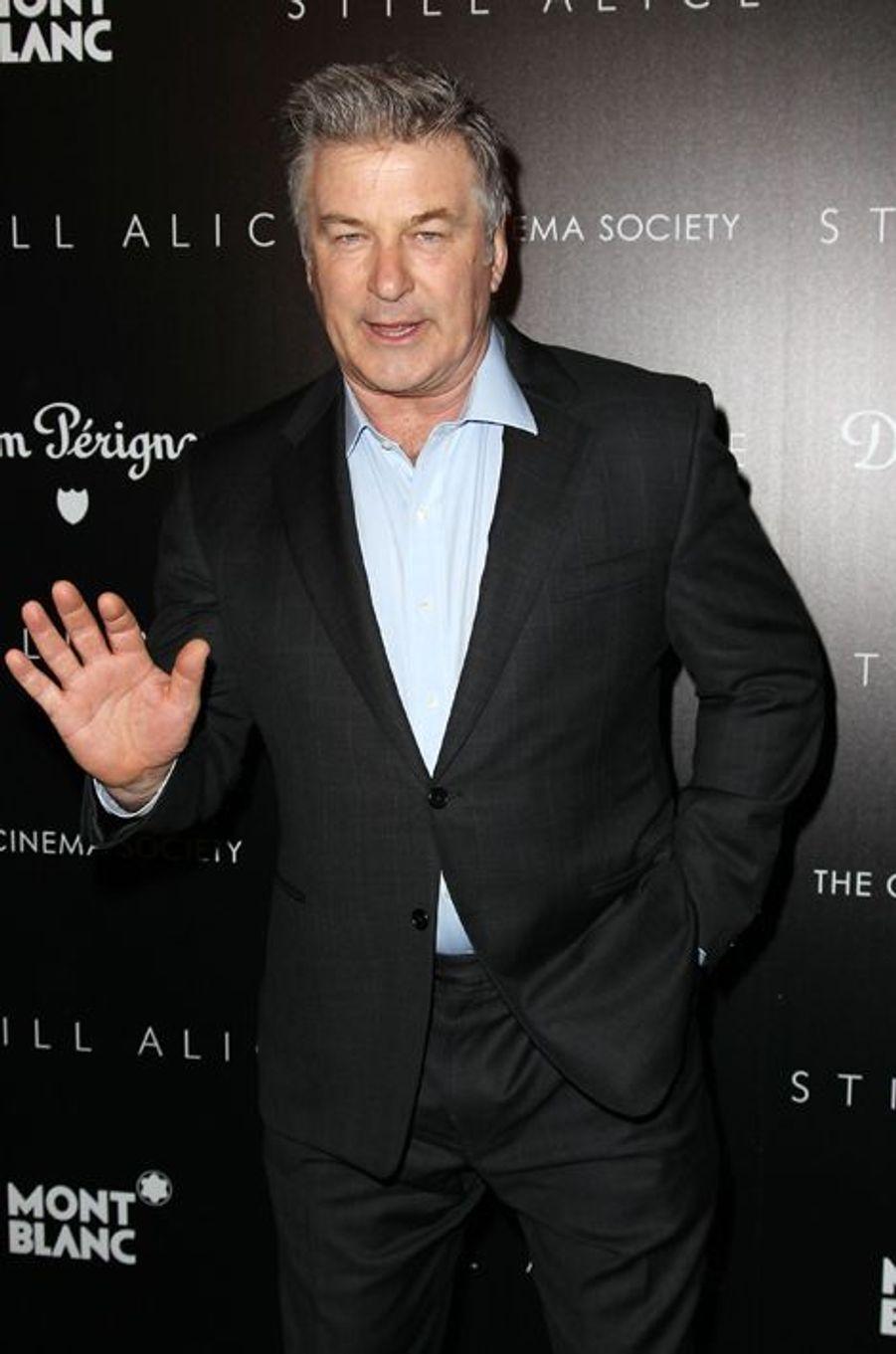 Alec Baldwin à New York le 13 janvier 2014