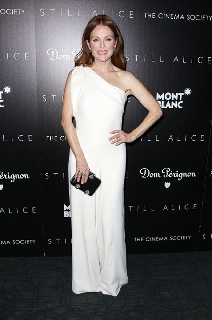 Julianne Moore à New York le 13 janvier 2014
