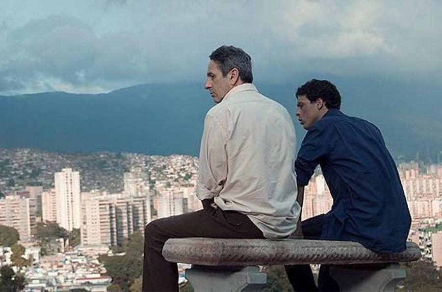 Avec Alfredo Castro, Alí Rondon