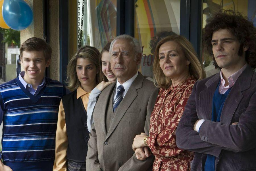 Avec Guillermo Francella, Peter Lanzani, Lili Popovich