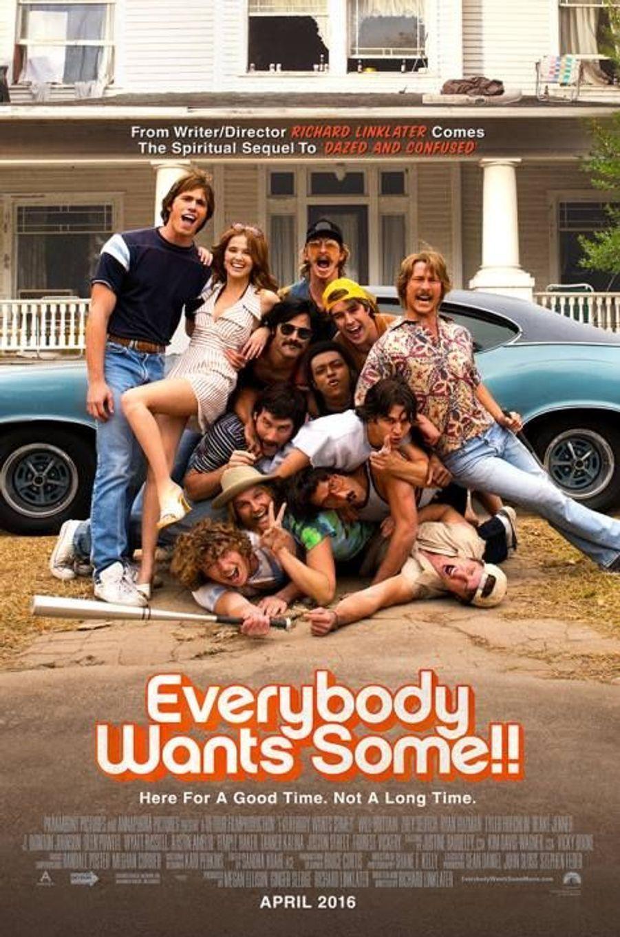 """""""Everybody Wants Some"""" de Richard Linklater (sortie non déterminée)"""