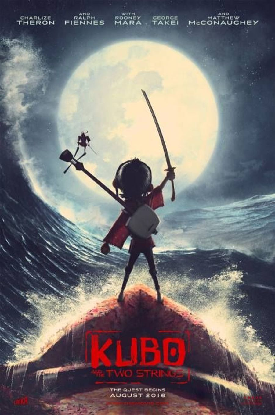 """Kubo And The Two Strings"" de Travis Knight (sortie le 12 octobre)"