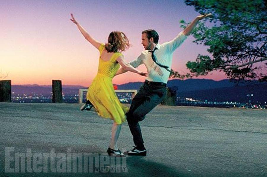 Avec Emma Stone et Ryan Gosling