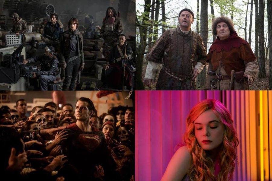 L'année cinéma 2016 en cent films