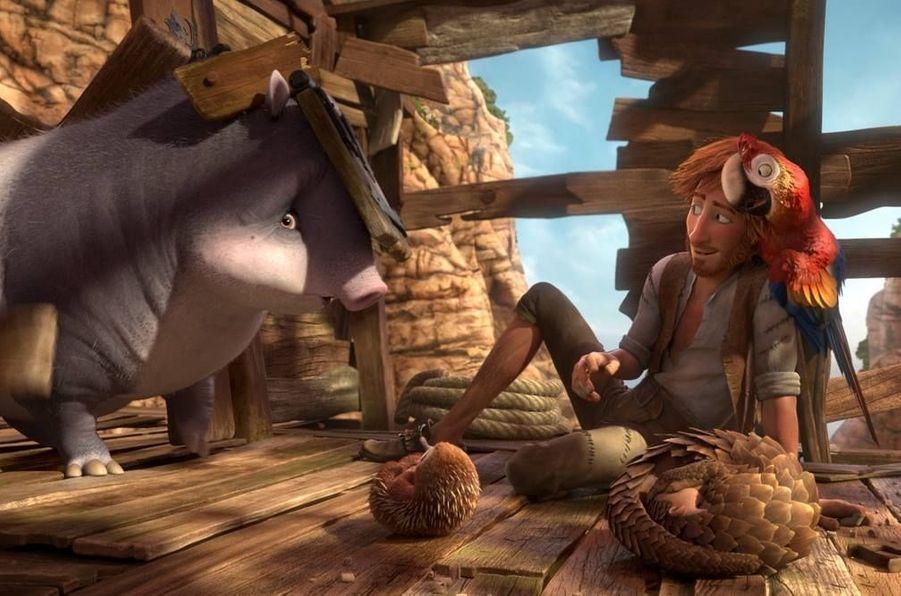 """Robinson Crusoe"" de Ben Stassen , Vincent Kesteloot (sortie le 20 avril)"
