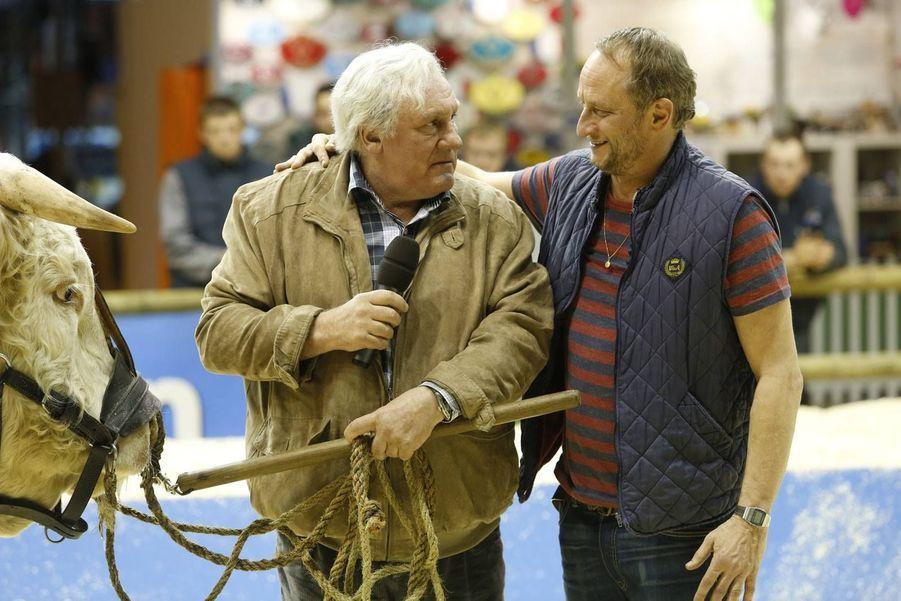 Avec Gérard Depardieu, Benoît Poelvoorde, Vincent Lacoste