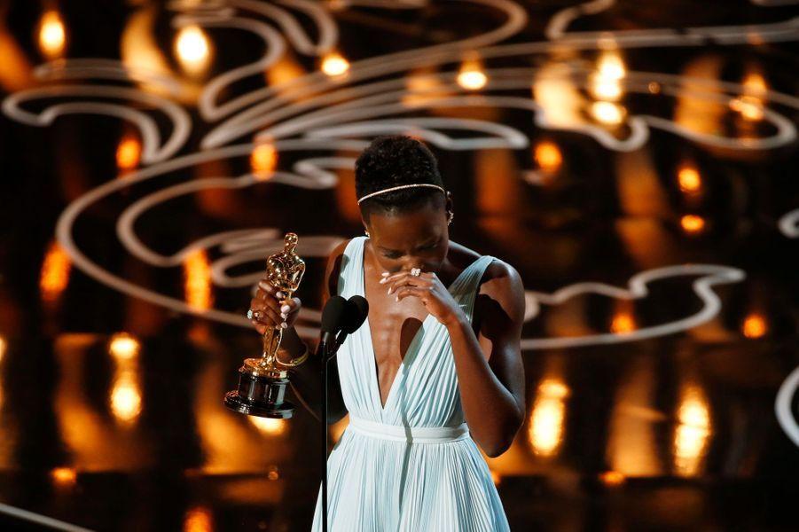 L'émotion de Lupita Nyong'o