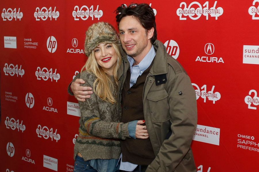 "Kate Hudson et Zach Braff (""Wish I Was Here"")"