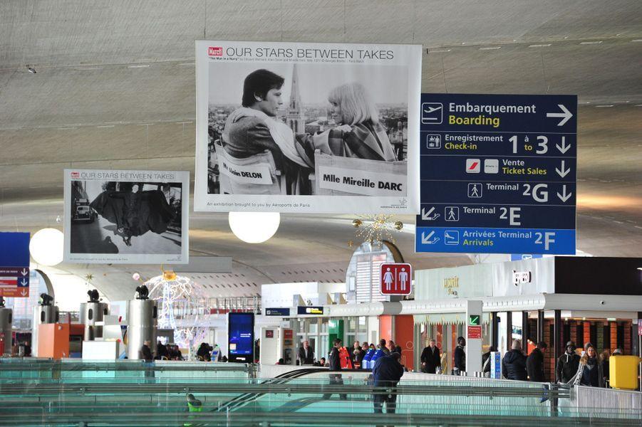 L'exposition « Nos Stars en liberté » Paris Match/Aéroports de Paris