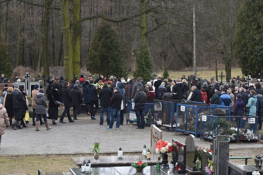 Les obsèques d'Andrzej Zulawski