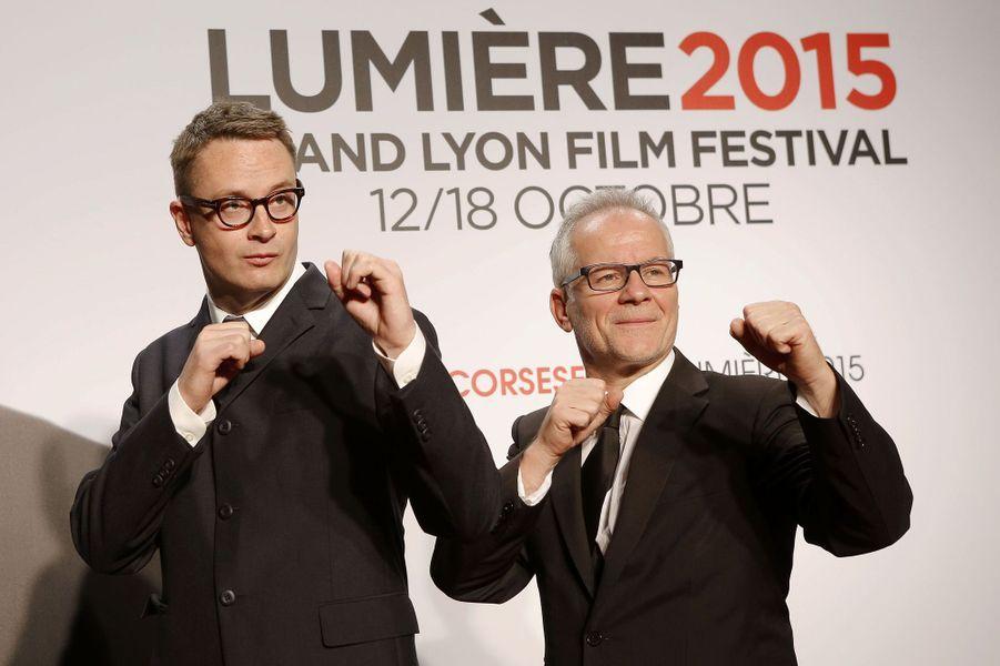 Nicolas Winding Refn et Thierry Frémaux