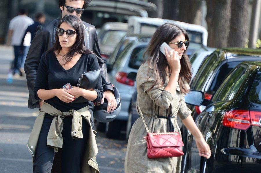 Leila Bekhti et Géraldine Nakache