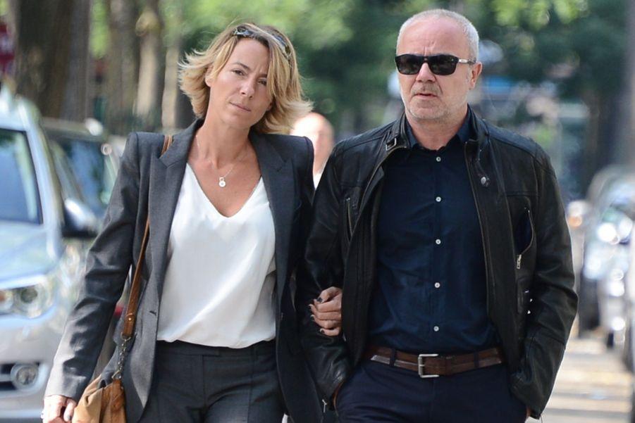 Olivier Barroux et son épouse
