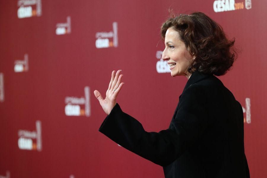La ministre de la Culture Audrey Azoulay