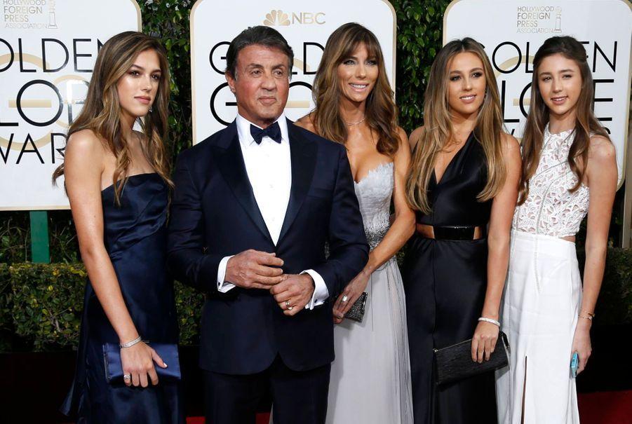 Sylvester Stallone en famille