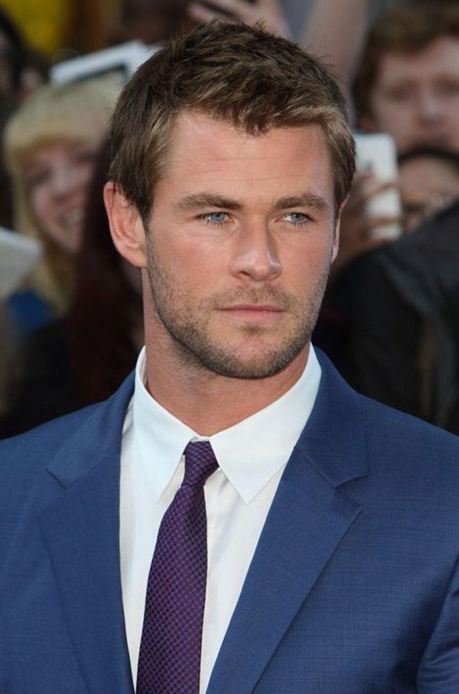 Chris Hemsworth à Londres le 21 avril 2015
