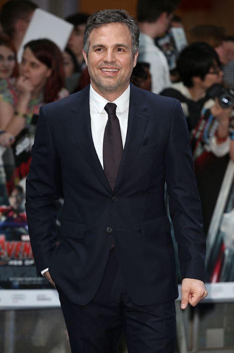 Mark Ruffalo à Londres le 21 avril 2015