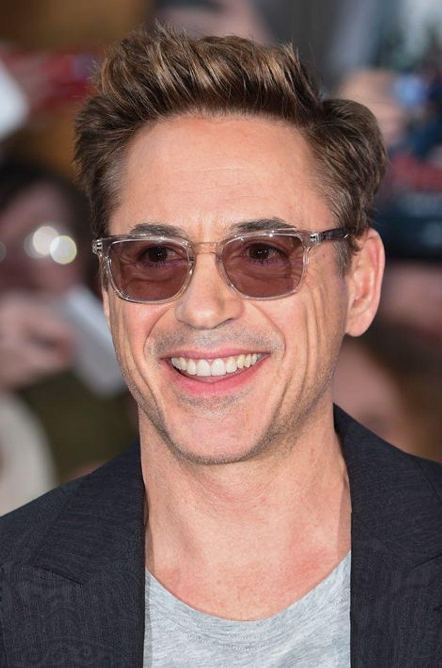 Robert Downey Jr. à Londres le 21 avril 2015