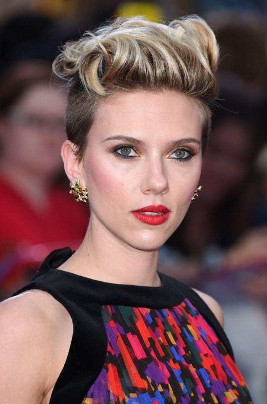 Scarlett Johansson à Londres le 21 avril 2015
