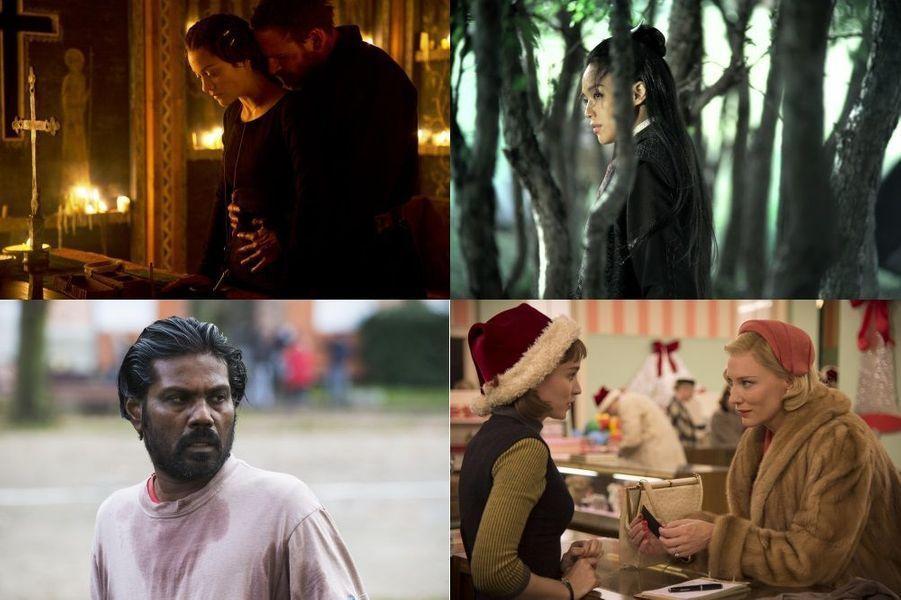 Les dix-neuf films en compétition