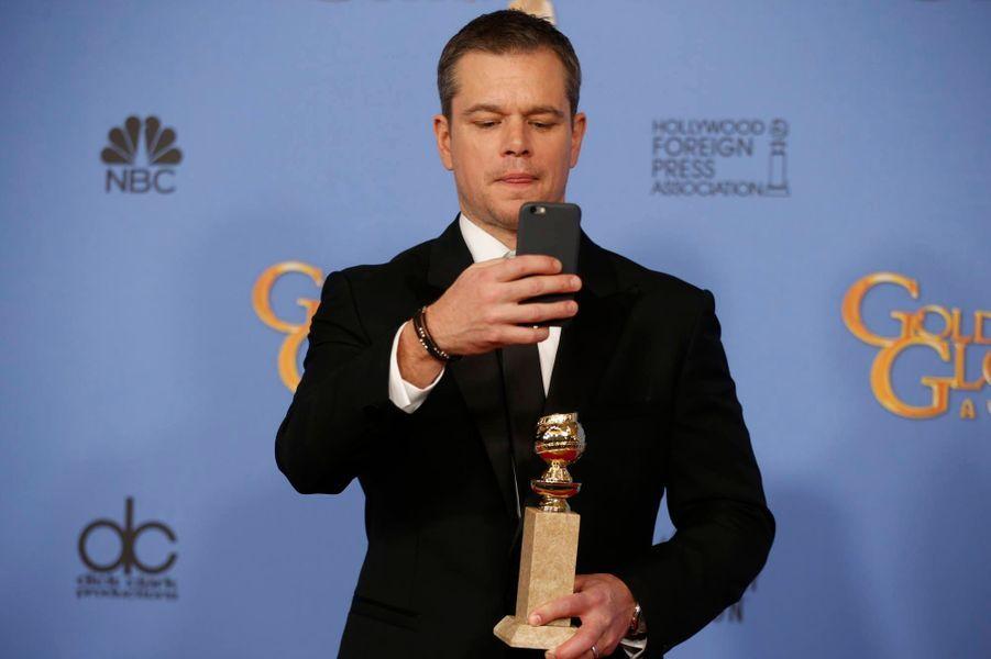 Meilleur acteur dans une comédie: Matt Damon - Seul sur Mars