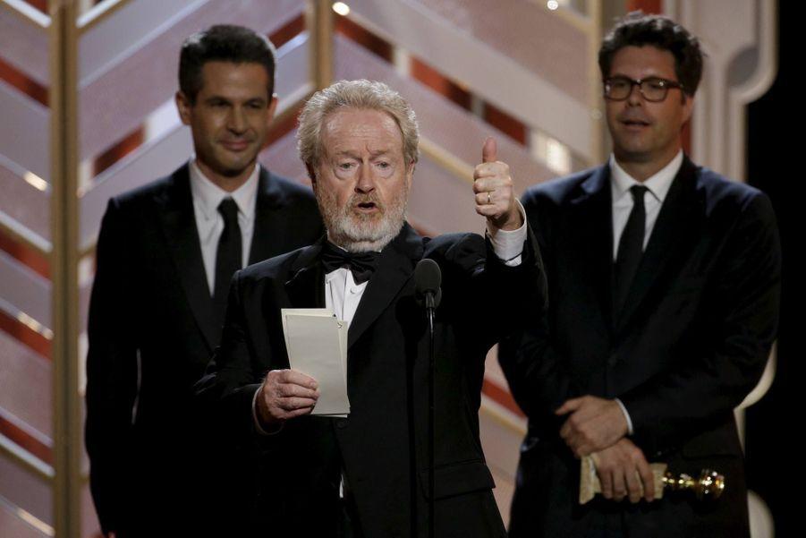 """Meilleur film catégorie comédie ou comédie musicale: """"Seul sur Mars"""""""