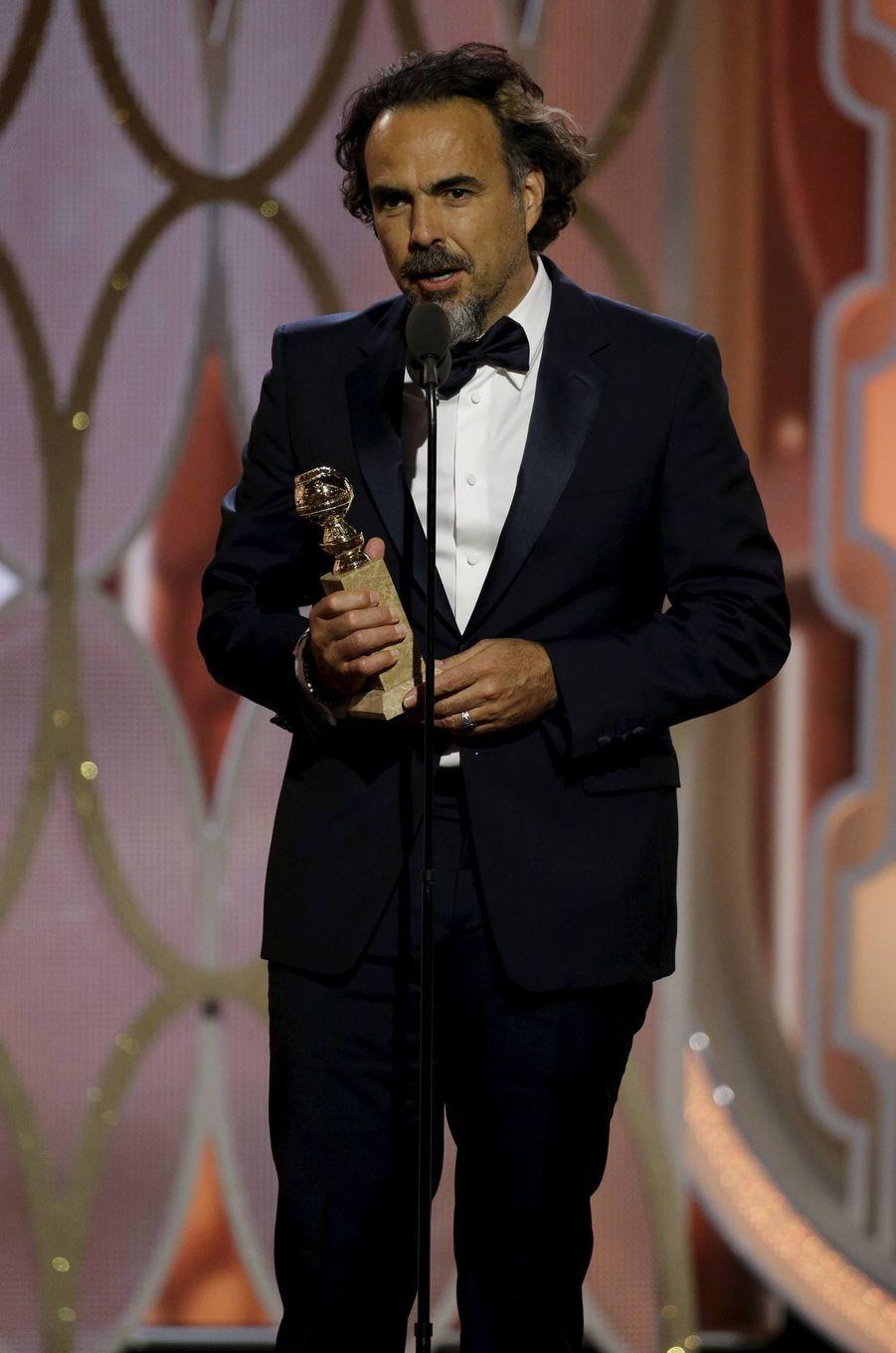 """Meilleur réalisateur et meilleur film: Alejandro Gonzalez Inarritu - """"The Revenant"""""""