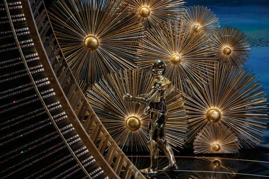 C3PO sur la scène des Oscars... comme en 1978
