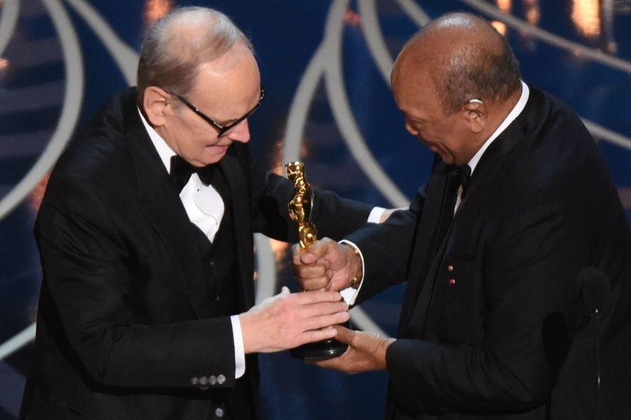 Ennio Morricone, Oscar de la meilleure musique