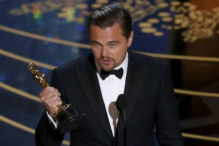 L'Oscar du meilleur acteur pour Leonardo DiCaprio