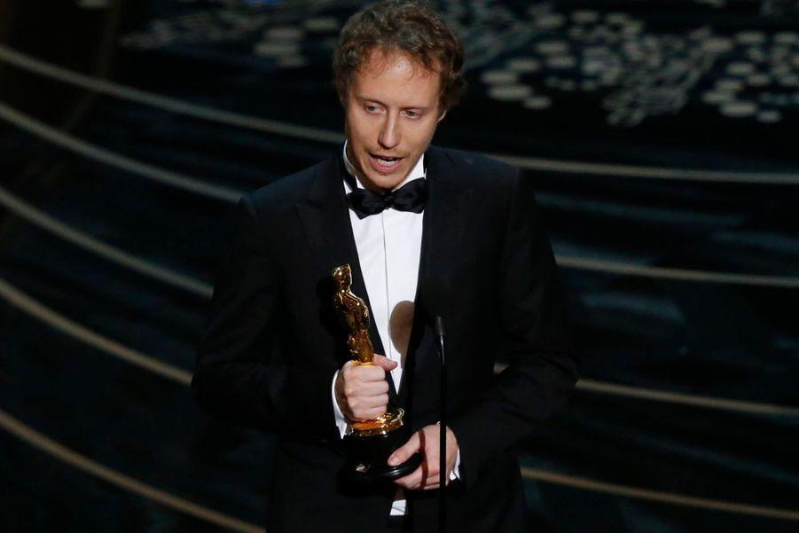 """Laszlo Nemes, Oscar du meilleur film en langue étrangère pour """"Le Fils de Saul"""""""