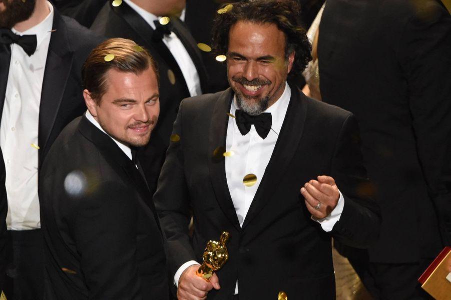 Leonardo Di Caprio et Alejandro Gonzalez Inarritu, meilleur réalisateur