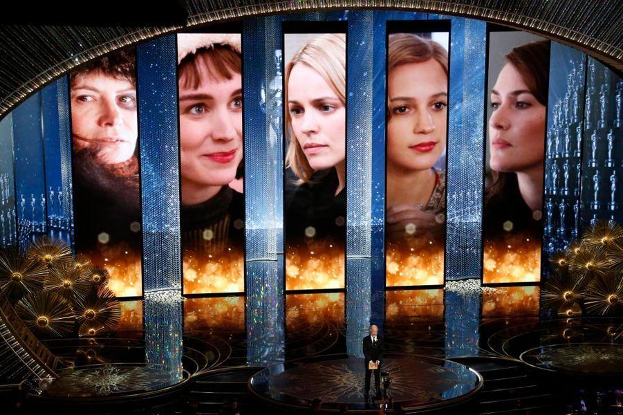 Les nommées pour le meilleur second rôle féminin