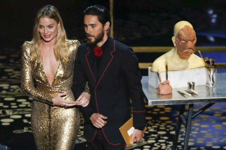 Margot Robbie et Jared Leto ont présenté les Oscars techniques